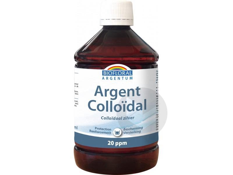 Argent colloidal naturel 20 ppm - 500 ml
