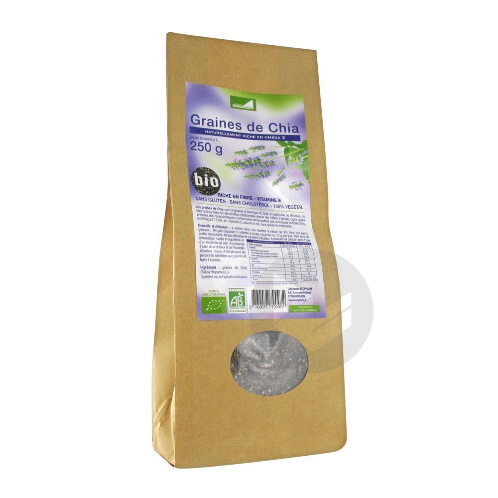 Graines De Chia Bio 250 G