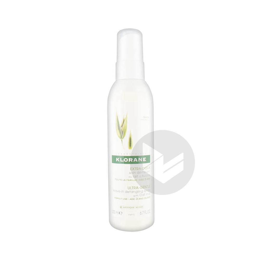 Capillaire Spray Sans Rincage Lait D Avoine Fl 200 Ml