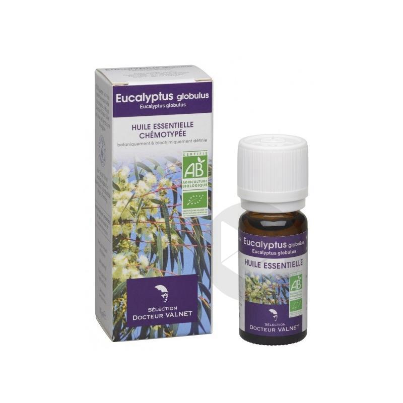 DOCTEUR VALNET Huile essentielle bio Eucalyptus globulus Fl/10ml