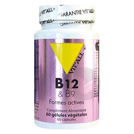 B12 & B9 formes actives - 60 gélules