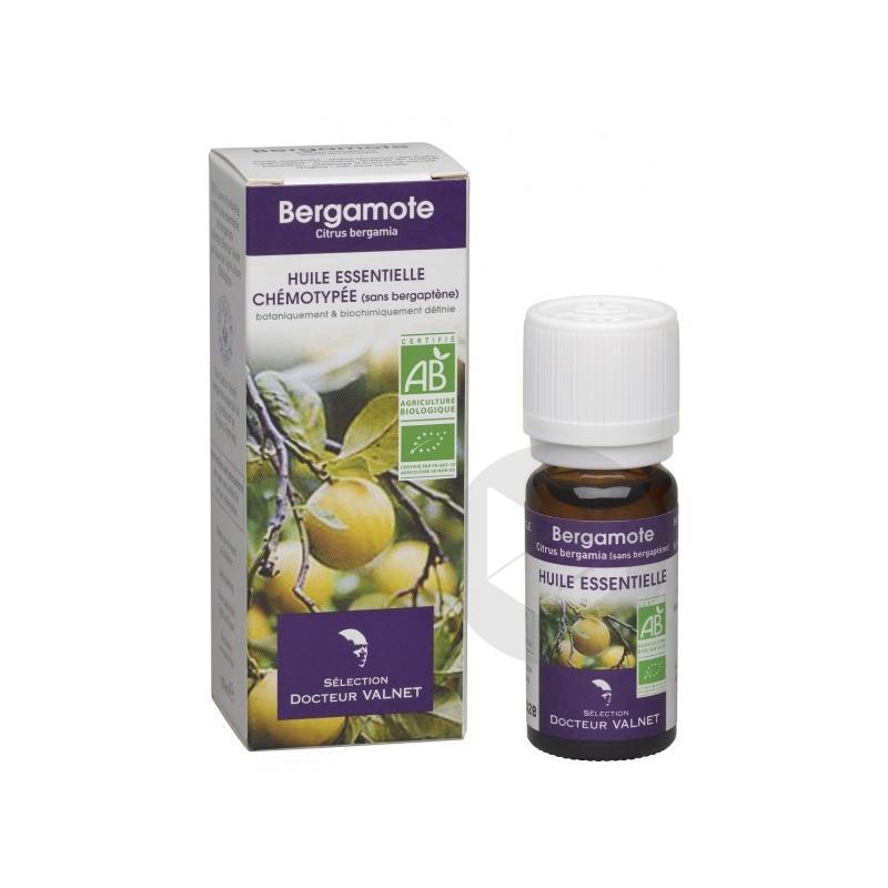DOCTEUR VALNET Huile essentielle bio Bergamote Fl/10ml