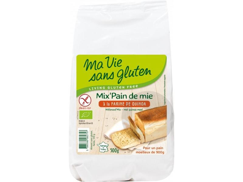 Mix pain de mie à la farine de quinoa Bio - 500 g