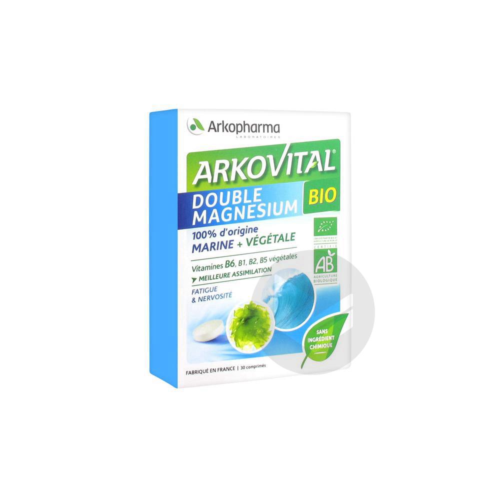 Arkovital Double Magnesium Bio 30 Comprimes