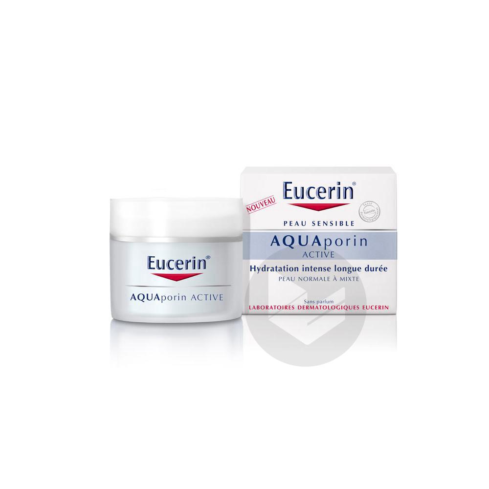 EUCERIN AQUAPORIN ACTIVE Cr soin hydratant peau normale à mixte Pot/50ml