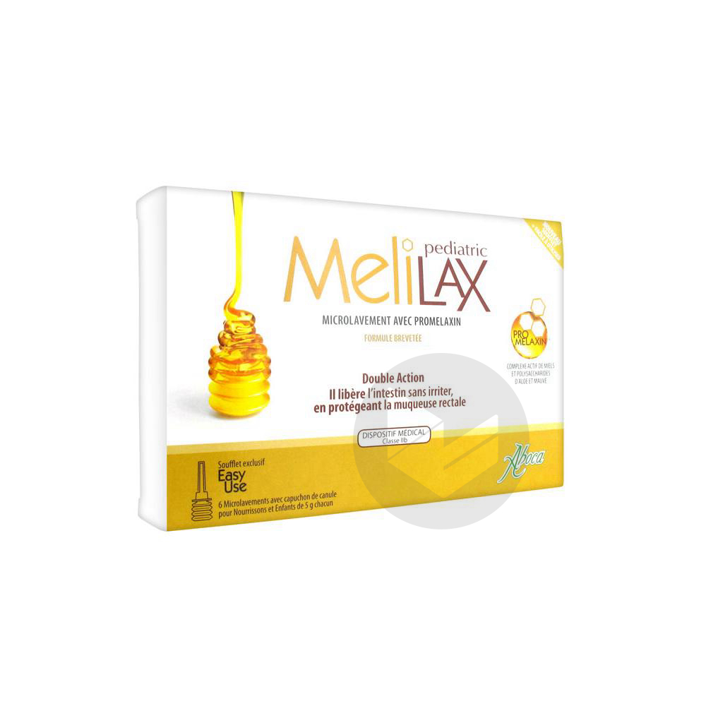 Melilax Pediatric Gel Rectal Microlavement 6 T 5 G