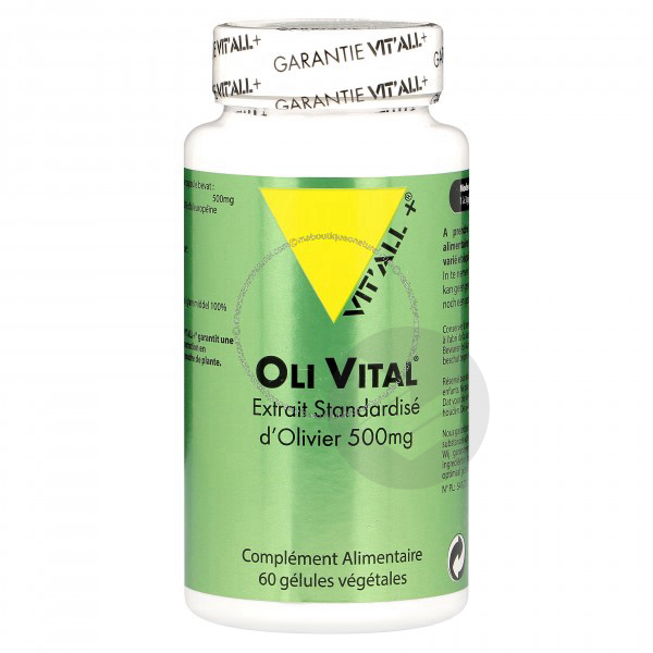 Olivital 500 mg - 60 capsules