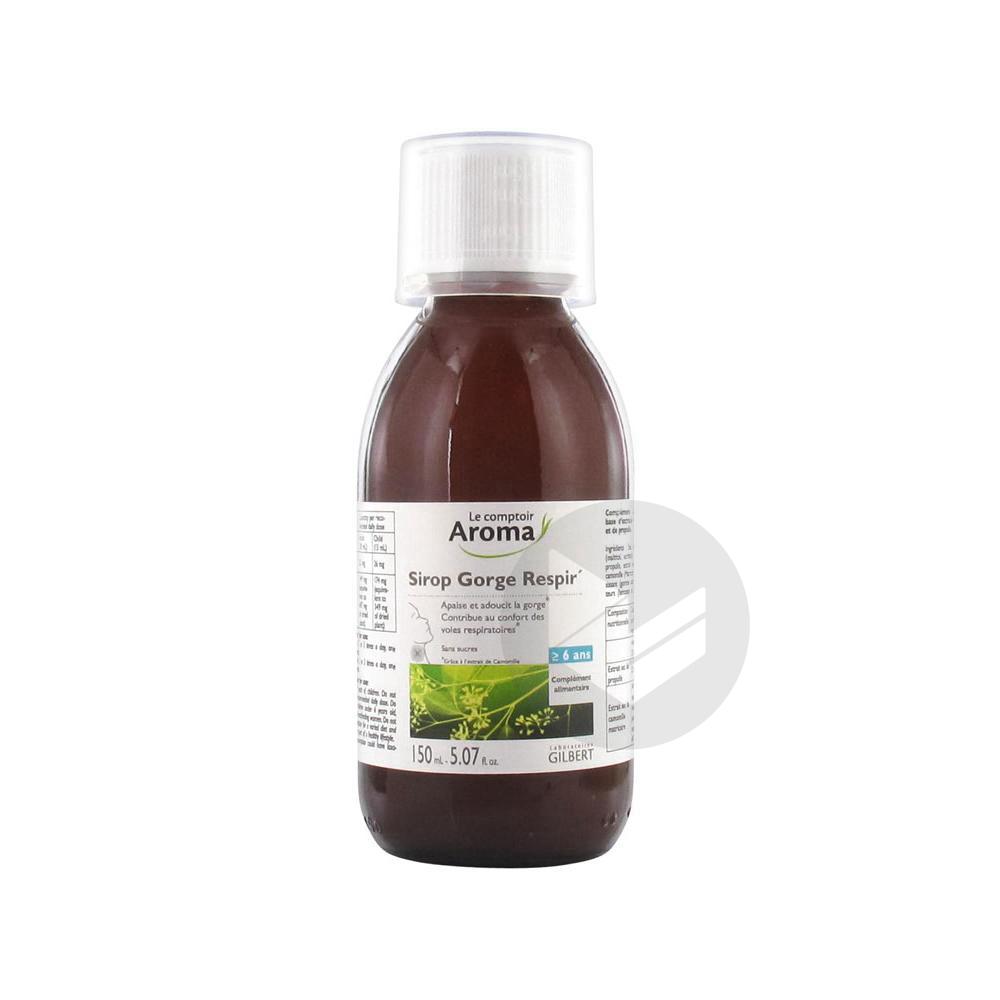 Sirop Gorge Respir' 150 ml