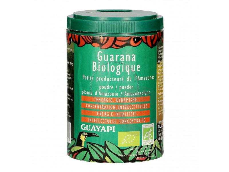 Guarana de l'Amazonas en poudre Bio - 50g