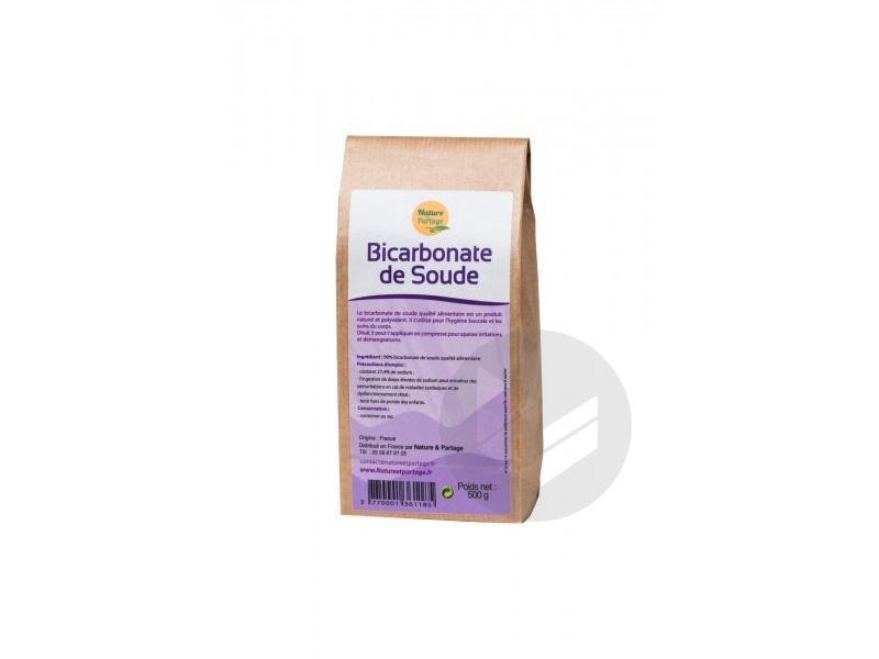 Bicarbonate De Soude Alimentaire 500 G
