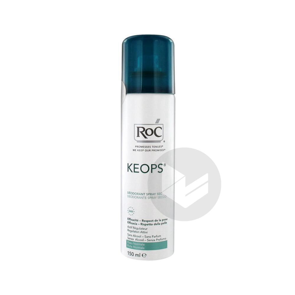 Keops Deodorant Sec Sans Alcool Atom 150 Ml