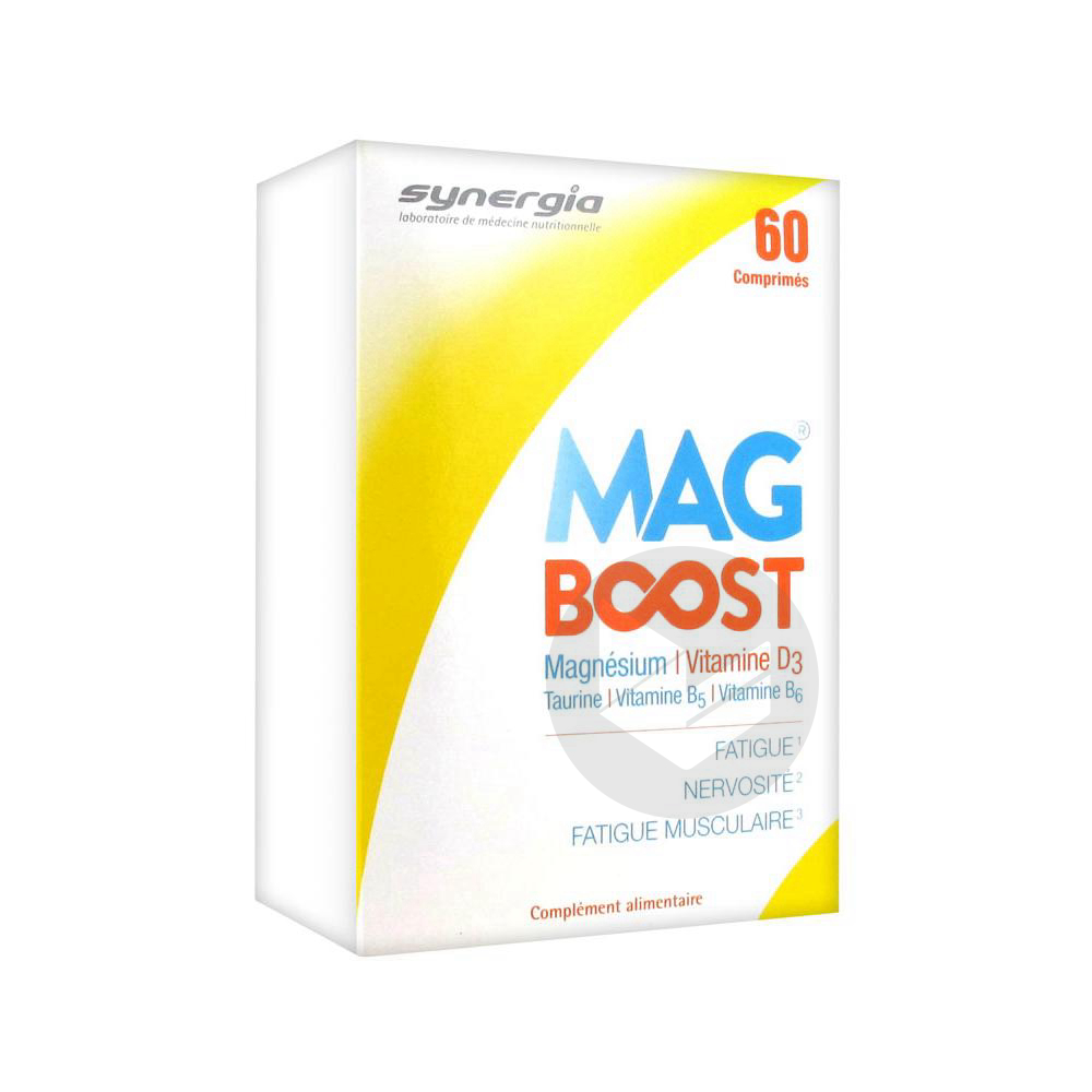 Synergia Mag Boost 60 Comprimés