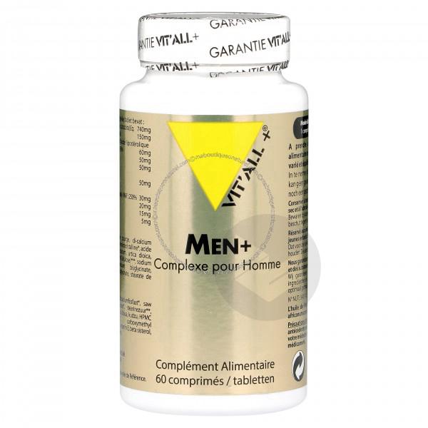 Men Complexe Anti Age Pour Homme 60 Comprimes