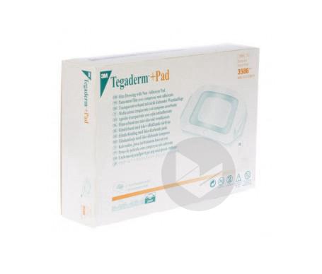 Tegaderm Plus Pad Pansement Adhesif 9 X 10 Cm 5 Pieces