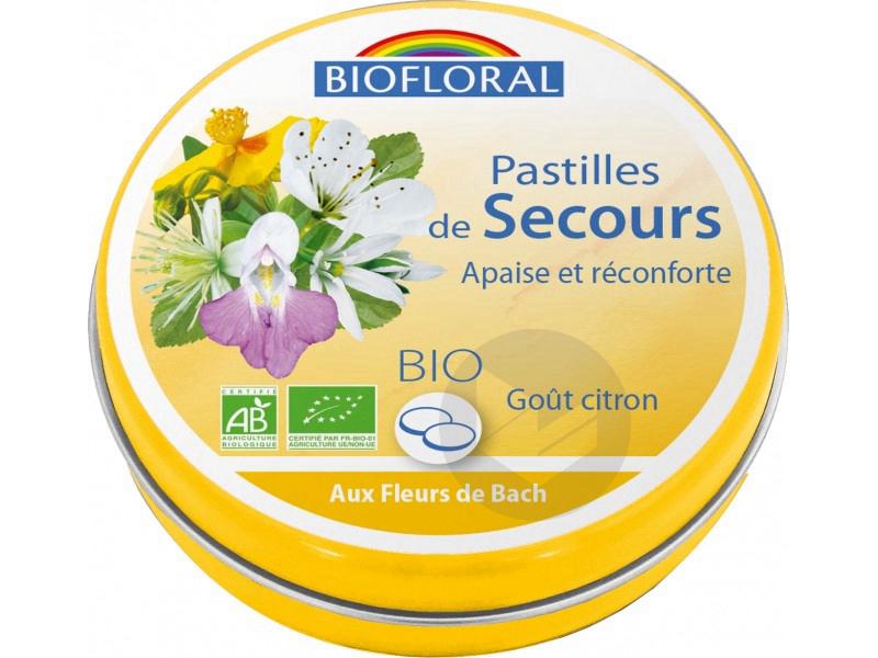 Pastilles De Secours Bio Format Familial 50 G