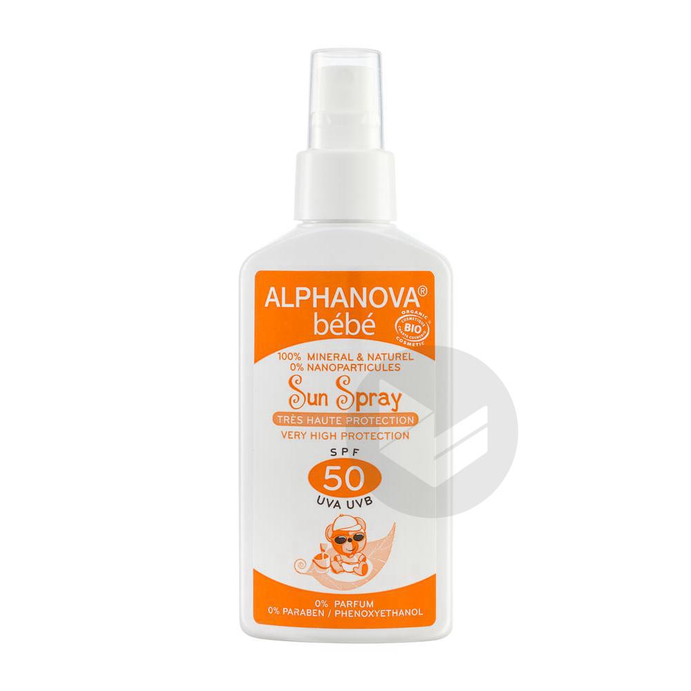 Bebe Bio Spf 50 Spray Fl 125 Ml