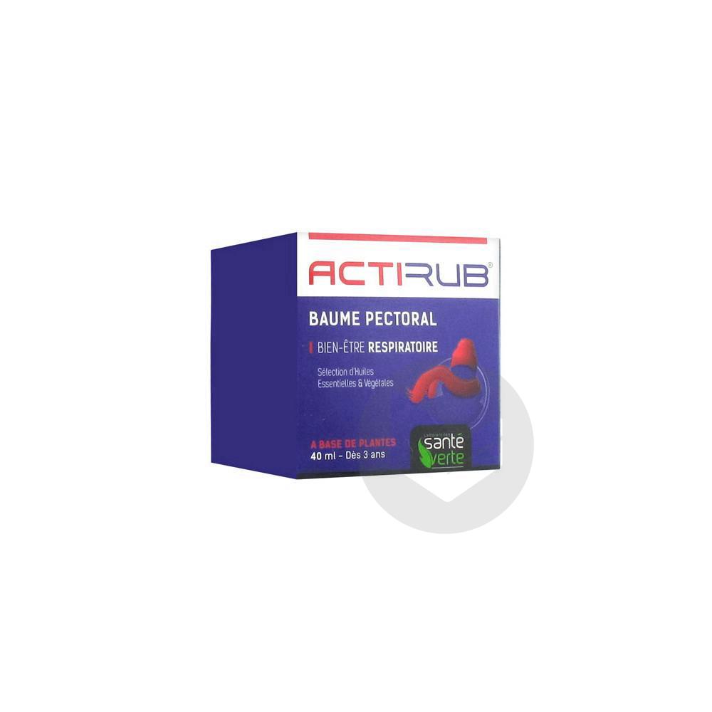 Actirub Bme Pectoral T 40 Ml