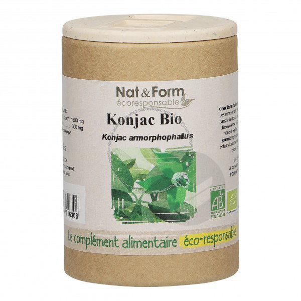 Konjac Bio Eco-responsable - 90 gélules