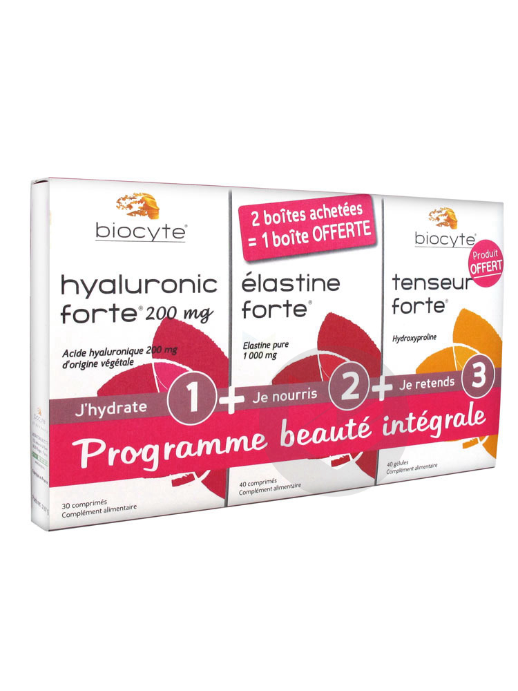 BIOCYTE PACK BEAUTE INTEGR CO3