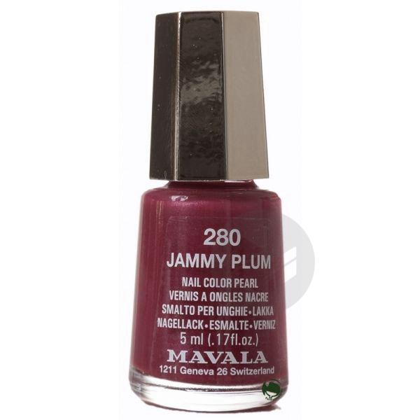 Jelly Effect V Ongles Jammy Plum Fl 5 Ml