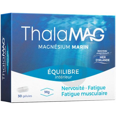 Thalamag Equilibre Interieur Magnesium Marin 30 Gelules