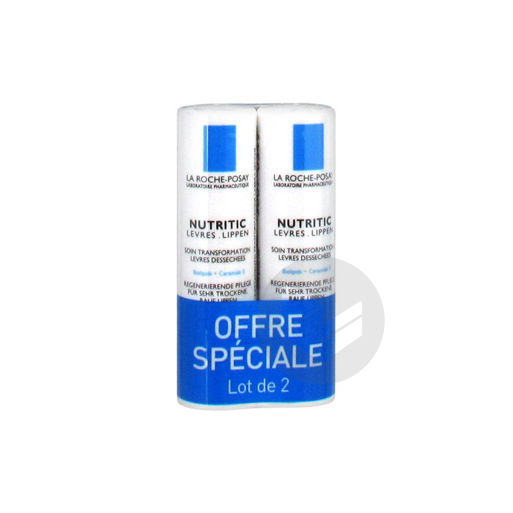 Lot 2 Nutritic Levres 4 7 Ml