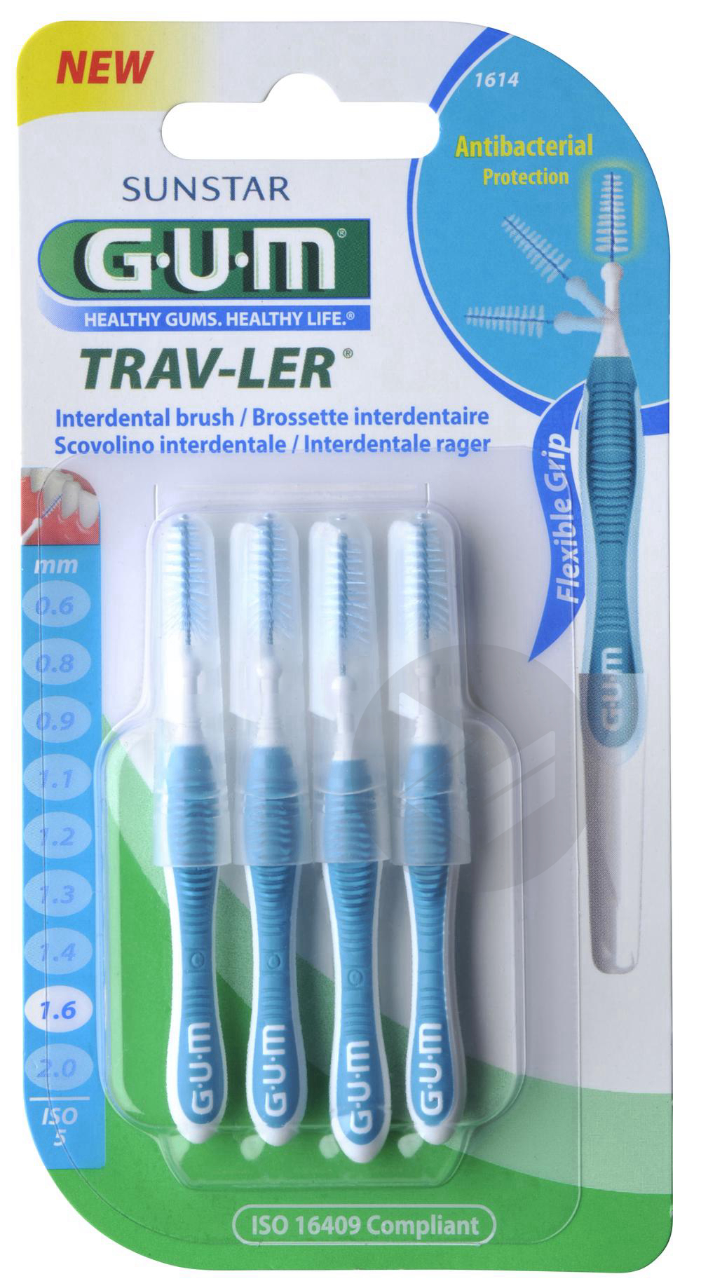 Brossette Interdentaire Trav Ler 1 6 Mm