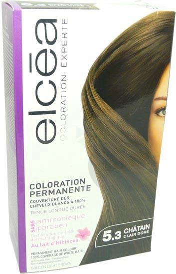 Elcea Kit Coloration Experte Chatain Clair Cuivre