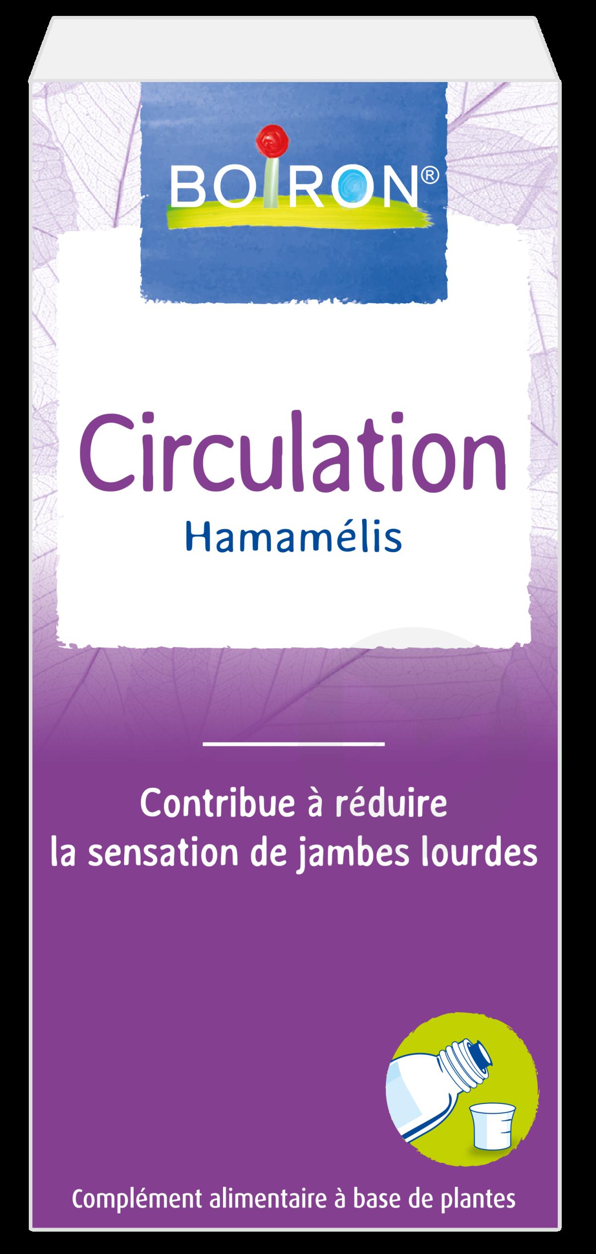 Extrait De Plantes Circulation Hamamelis 60 Ml