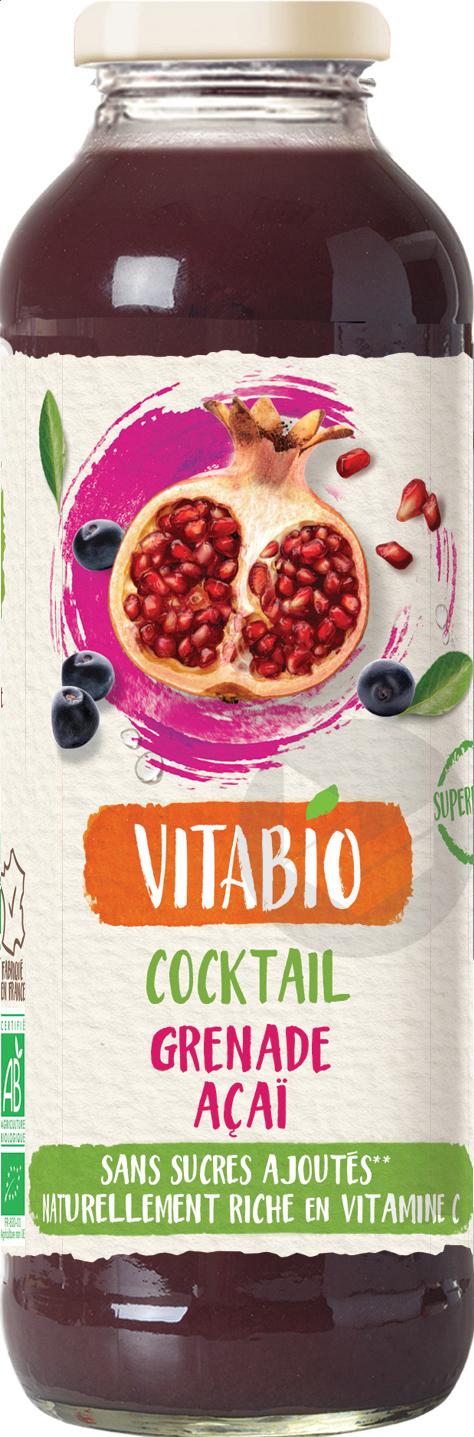 Vitabio Cocktail Grenade Acai