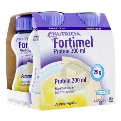 Fortimel Protein Vanille 200 Ml X 4