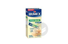 HUMEX 750 mg/10 ml Solution buvable expectorant carbocistéine sans sucre adulte (Boîte de 15)