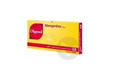 Manganese Sol Buv En Ampoule 14 Ampoules De 2 Ml