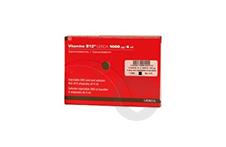 VITAMINE B12 GERDA 1000 µg Solution injectable ou buvable IM (6 ampoules de 4ml)