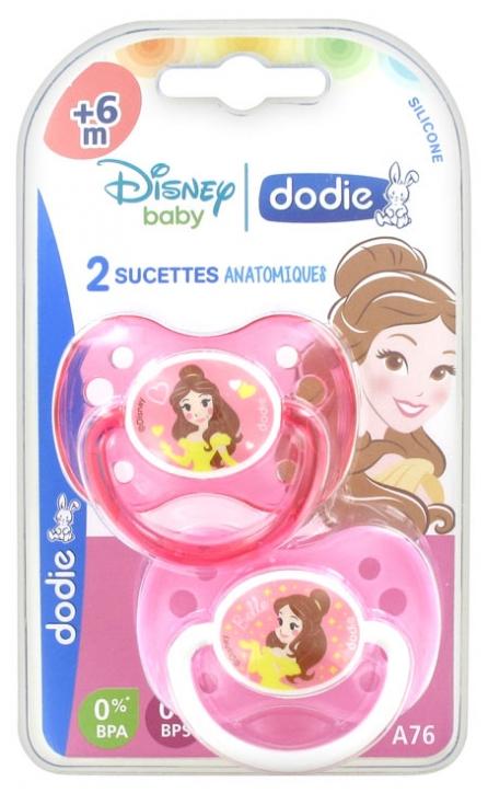 Disney Sucette Anatomique Silicone 6 Mois Belle Lot 2