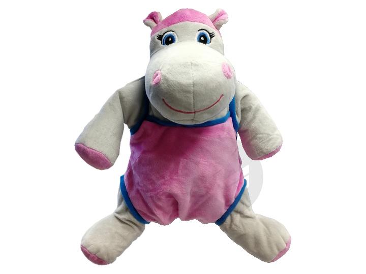 Housse Bouillotte Enfant Hippopotame