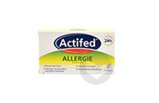 ACTIFED ALLERGIE X7CP