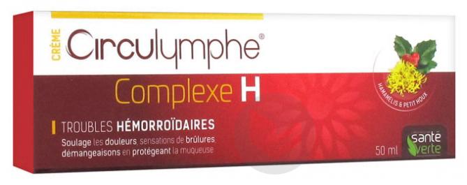 Circulymphe H Crème 50Ml