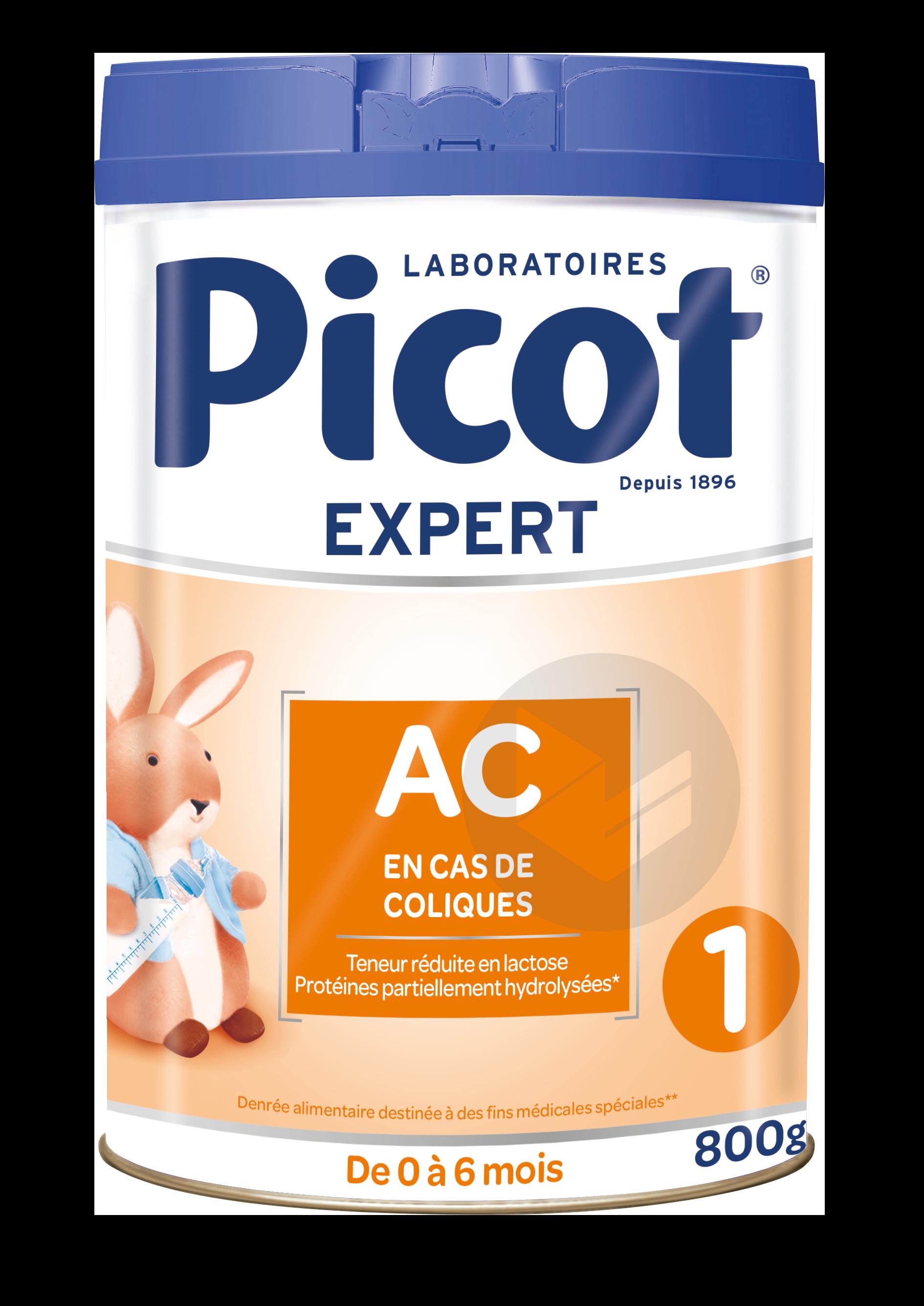 PICOT EXPERT Action coliques 1er AGE