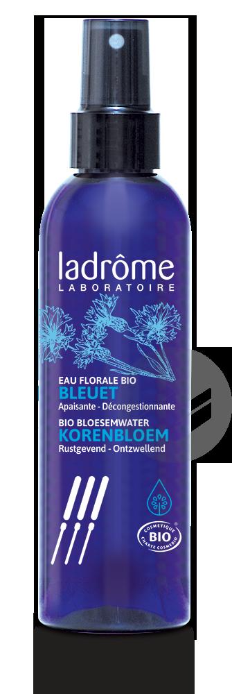 Eau Florale Bio Bleuet Apaisante Decongestionnante