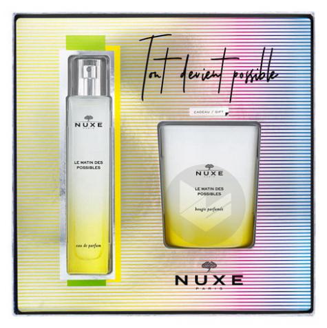 Coffret Le Matin des Possibles Eau de Parfum 50ml + Bougie Parfumée Offerte