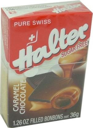 Sans Sucre Bonbon Caramel Fourre Chocolat B 36 G