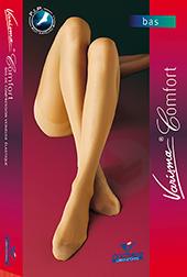 Varisma Comfort 2 Bas Autofix Pied Ouvert Femme Noir T 1 N