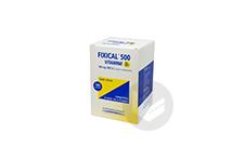 FIXICAL VITAMINE D3 500 mg/400 UI Comprimé à croquer/sucer (9 tubes de 20)