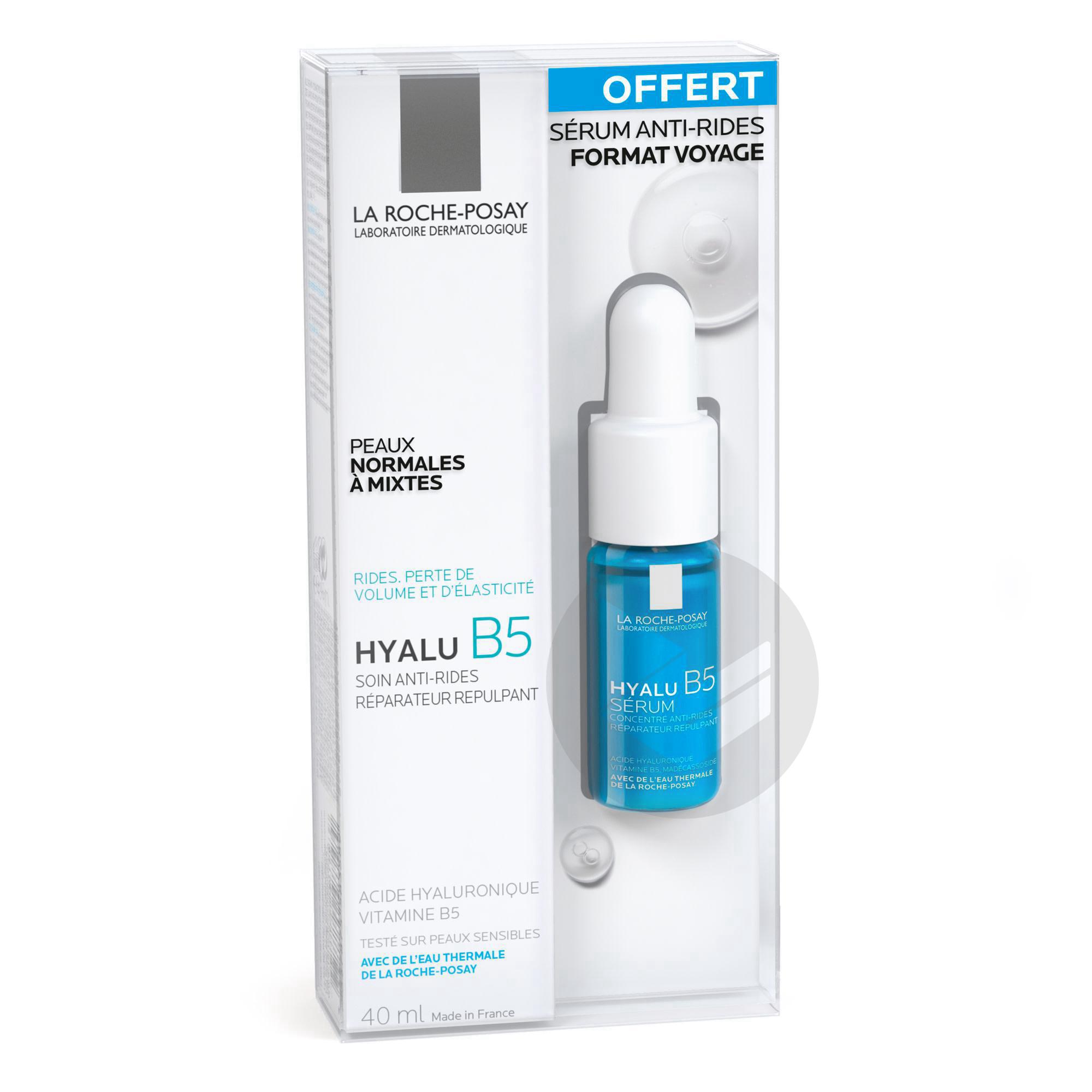 Hyalu B 5 Coffret Soin Mini Serum 10 Ml Offert