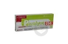 PARALYOC 250 mg Lyophilisat oral (Plaquette de 10)