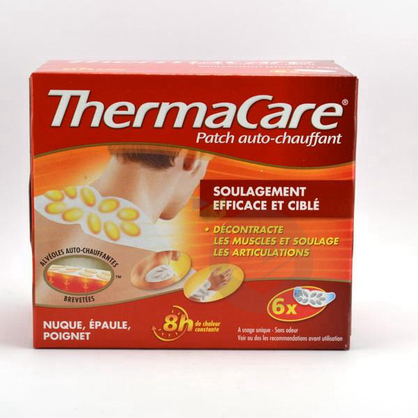 Thermacare Patch Chauffant Nuque Epaule Poignet Pack 6