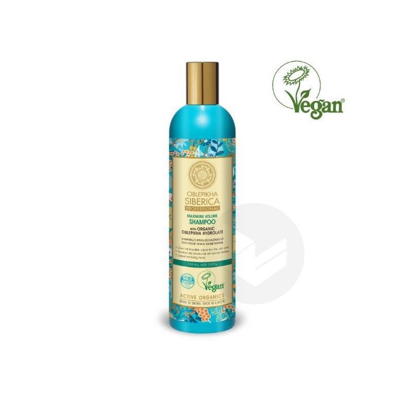 Shampoing à l'Argousier Tous Types de cheveux 400ml