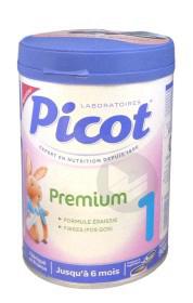 PICOT PREMIUM DIGEST 1 Lait pdre formule épaissie et fibres B/900g