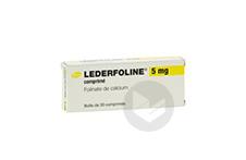 LEDERFOLINE 5 mg Comprimé (Plaquette de 30)